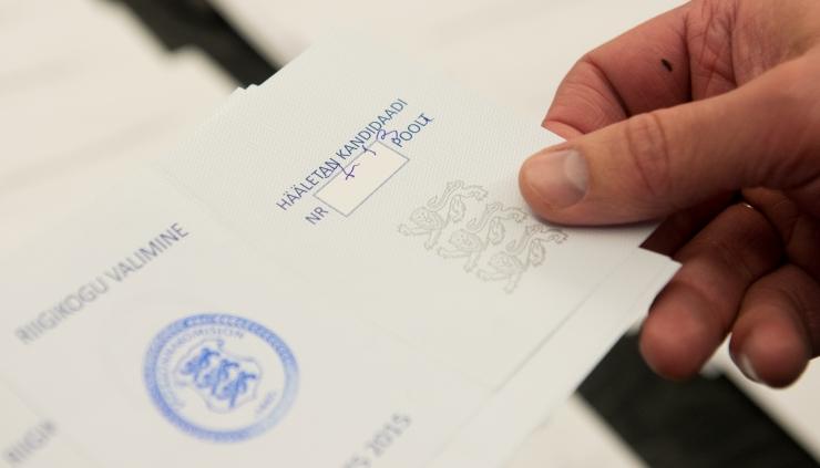 Tallinna linna valimiskomisjon registreeris esimesed valimisliidud