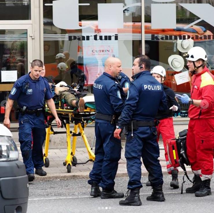 VIDEO! Soome politsei rekonstrueeris Turu Kauppatori rünnaku