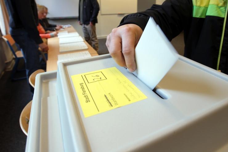 Linnavalitsus moodustas valimisjaoskonnad