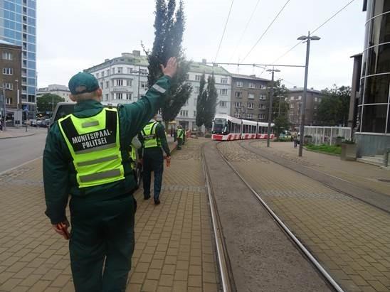 Mupo viis Tallinnas läbi sõiduõiguse lauskontrolli
