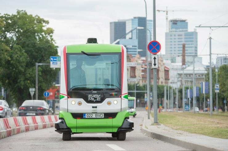 Isejuhtivad bussid läbisid Tallinnas kuu ajaga 1300 kilomeetrit