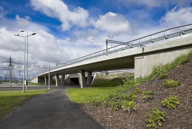 Suur-Sõjamäe tänavat ja Järvevana teed ühendav viadukt suletakse
