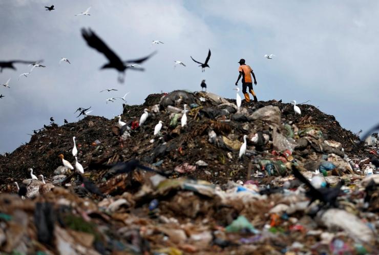 Sri Lanka keelustas plastikkotid ja ühekordsed kaubad