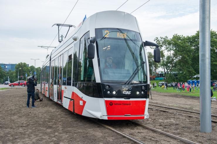 Alates tänasest liiguvad trammid kõikidel liinidel