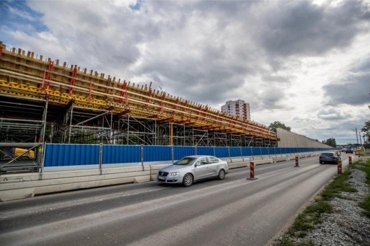 Alates 4. septembrist muutub Haabersti ristmiku liikluskorraldus