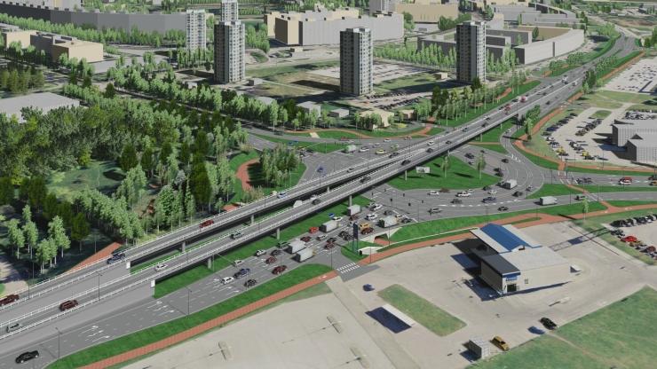 Tallinnas Paldiski maanteel muutub esmaspäevast liikluskorraldus