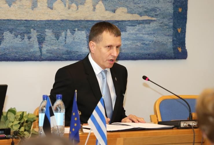 Endine Tallinna volikogujuht Toomas Vitsut kandideerib esinumbrina Sauel