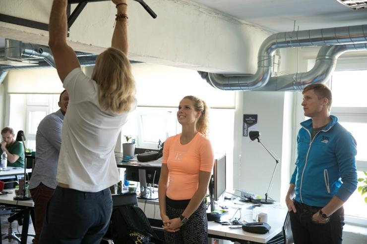 FOTOD! September on üle-eestiline töökohaspordikuu