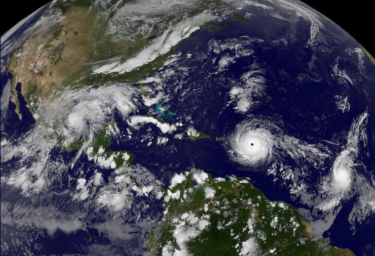 Orkaan Irma tugevnes viienda kategooria orkaaniks