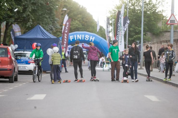 Tallinna autovaba päev toimub Pärnu maanteel
