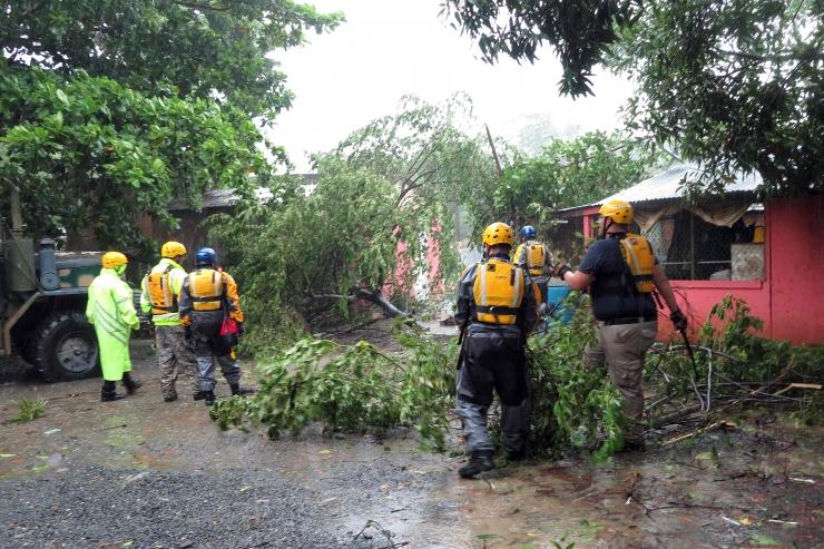 Orkaan Irma on jõudmas Puerto Ricosse