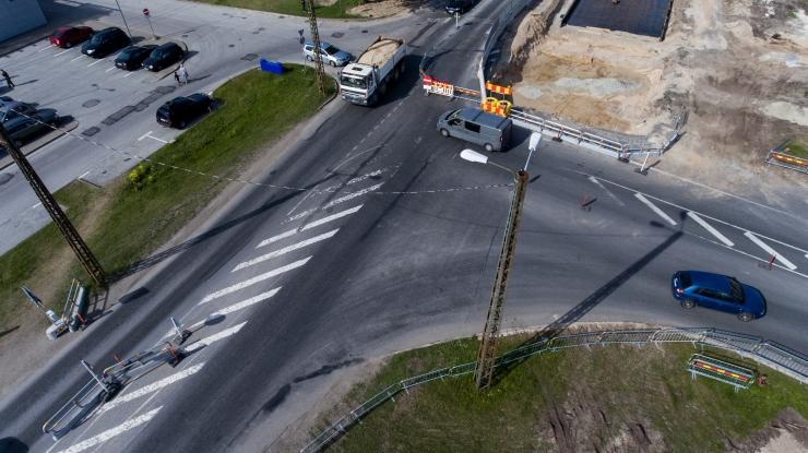 Alates 13. septembrist muutub liikluskorraldus Haabersti ristmikul