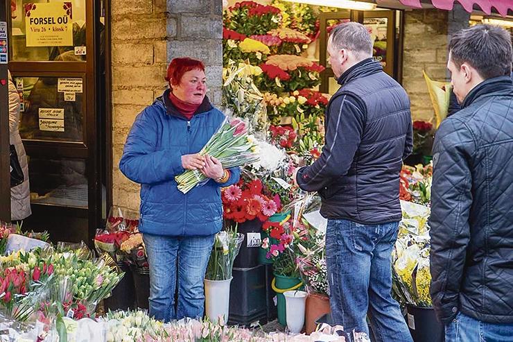 Viru tänava lilleturg saab aasta lõpuks värske ilme