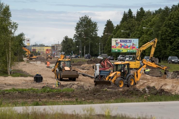 Algab Haabersti Tervisekeskuse juurdepääsutee ehitus