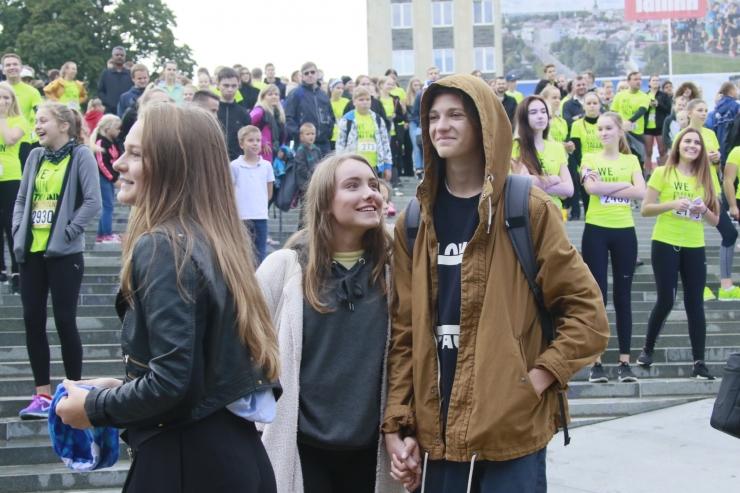 FOTOD! Nike`i noortejooks tõi kohale hulgaliselt osalejaid