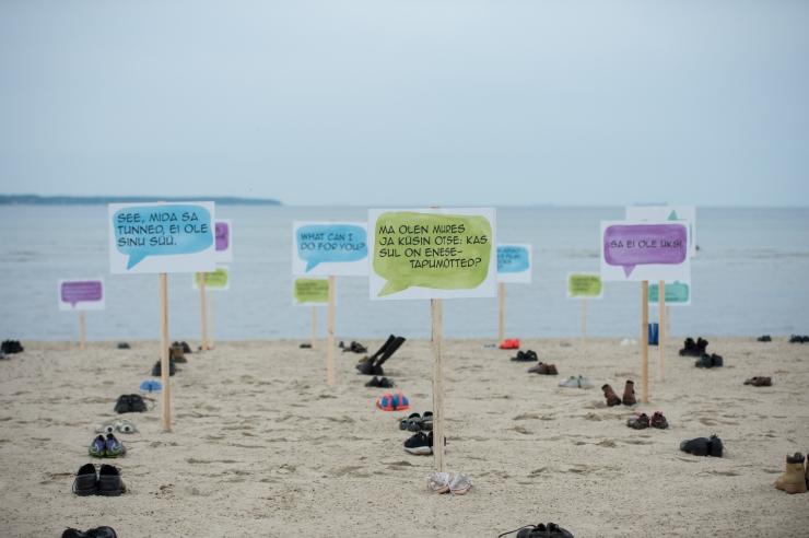 FOTOD! Kliiniline psühholoog rahvusvahelise suitsiidiennetuspäeva eel: iga enesetappu saaks ära hoida