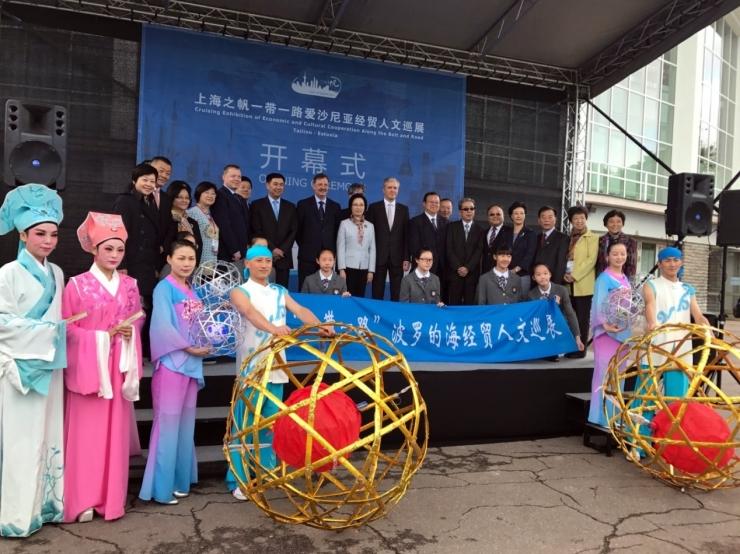 Hiina suurim linn Shanghai tuleb Tallinna