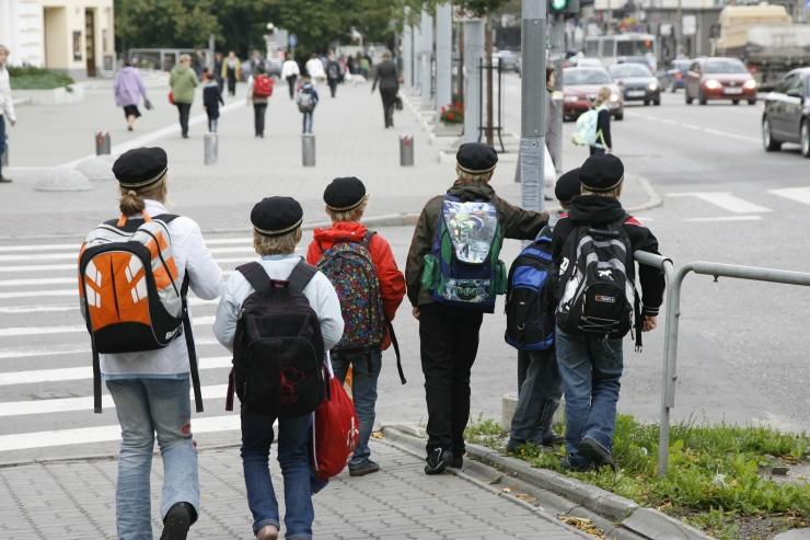 Ekspert: koolialguse puhul tuleb lastele turvalise liiklemise alused üle korrata