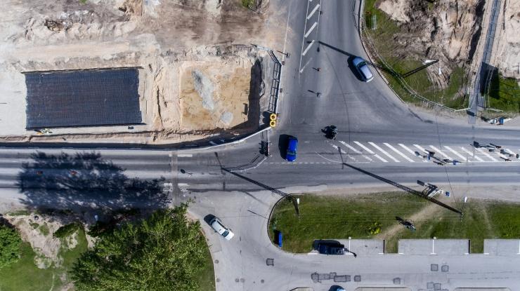 Homsest muutub liikluskorraldus Haabersti ristmikul