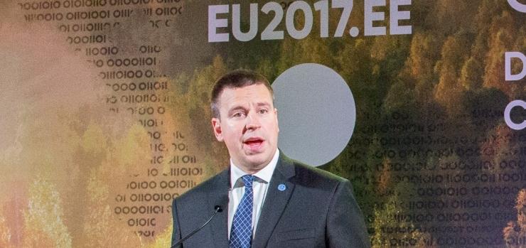Peaminister Jüri Ratas: digiühiskonda saab luua vaid rahva usaldusel