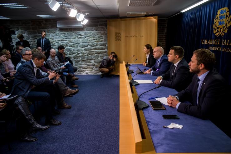 VAATA OTSE KELL 12! Valitsuse pressikonverentsil räägitakse väärtpaberituru reeglite ja konkurentsiseaduse muutmisest