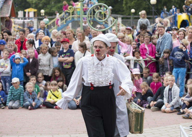 Teater paneb lapsed keskkonnale mõtlema