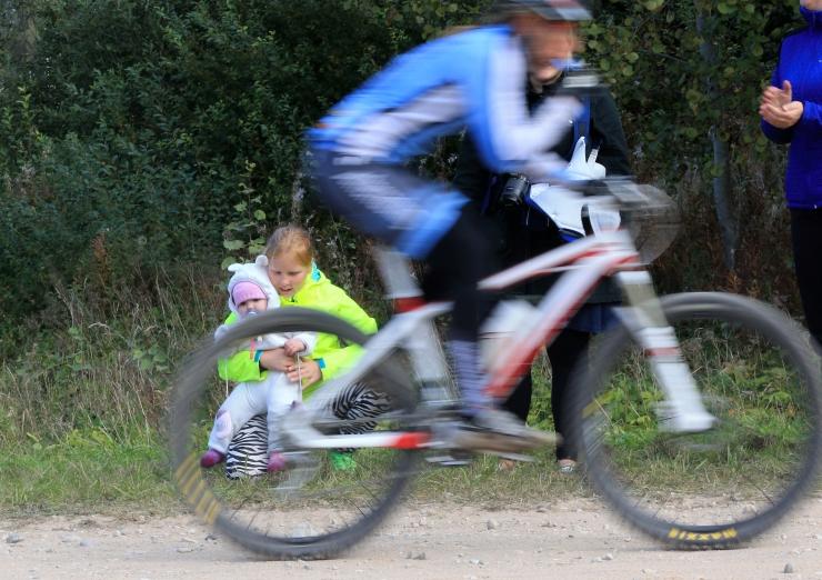 Tartu rattamaratoni lastesõitudele startis ligi 3000 last
