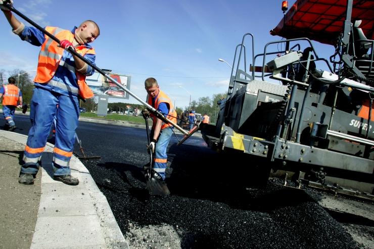 Tammsaare – Kiili ristmikul algavad asfalteerimistööd