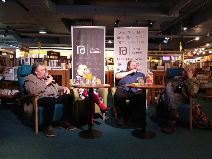 VIDEO! Vladislav Koržets, Jaan Pehk ja teised arutlesid toidu ja kirjanduse üle