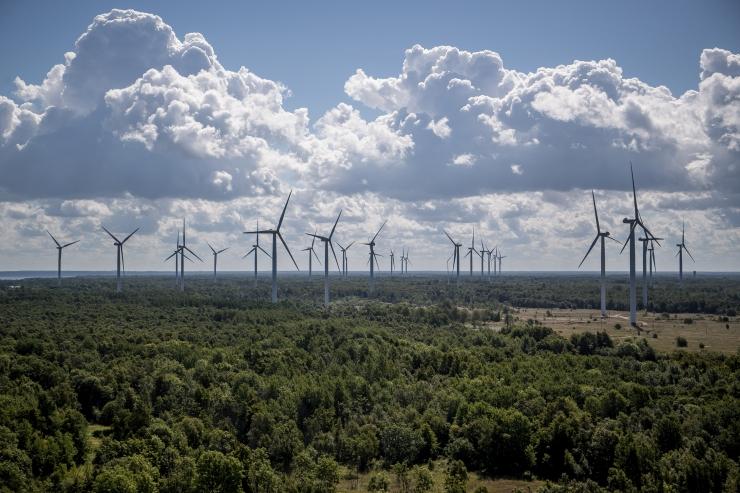 Euroopa tuuleenergeetikud ootavad Eestilt panust meretuuleenergiasse