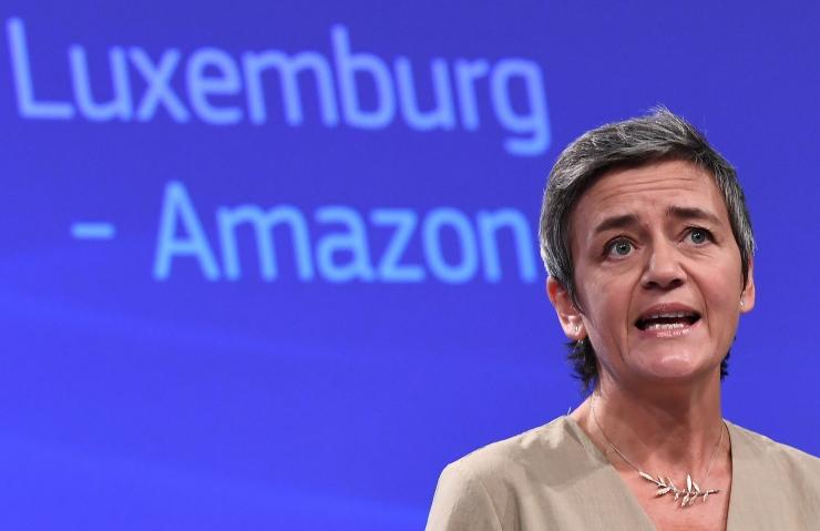 Euroopa Komisjon trahvib Amazoni 250 miljoni euroga