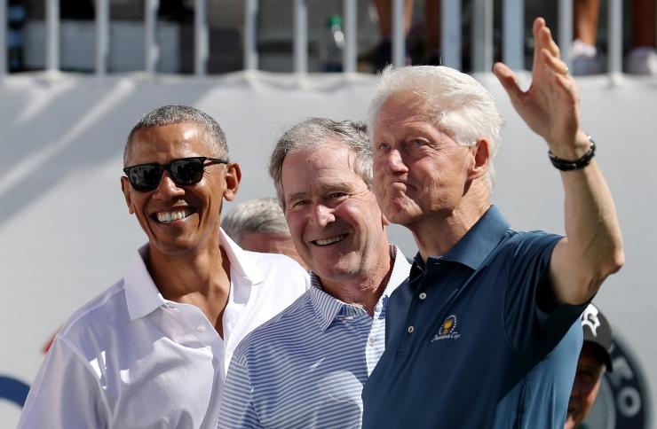 USA ekspresidendid kogunevad orkaaniohvrite toetuseks