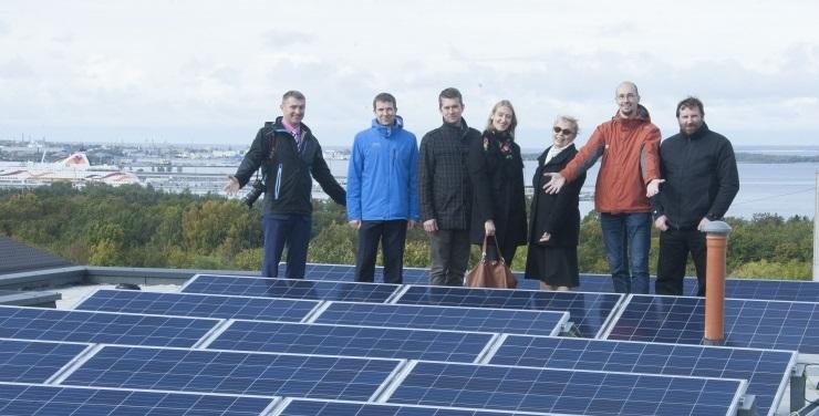 FOTOD JA VIDEO! Õpetajad said moodsa ja energiasäästliku kodu