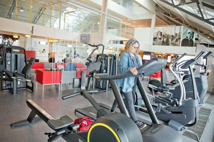 FOTOD! Tallinna lennujaamas saab nüüd lendu oodates sporti teha