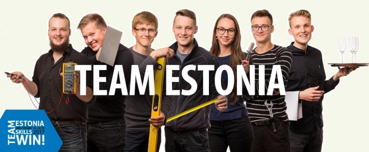 Ülemaailmsetel noorte kutsemeistrivõistlustel Abu Dhabis esindab Eestit seitse võistlejat