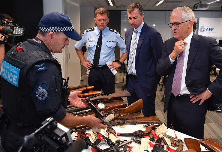 Austraalias anti amnestia raames riigile 50 000 ebaseaduslikku relva