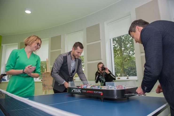 FOTOD: Lasnamäe Noortekeskus sai uued suuremad ruumid