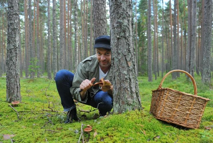 Politsei: seenelise varustus peaks võimaldama ööseks metsa jääda