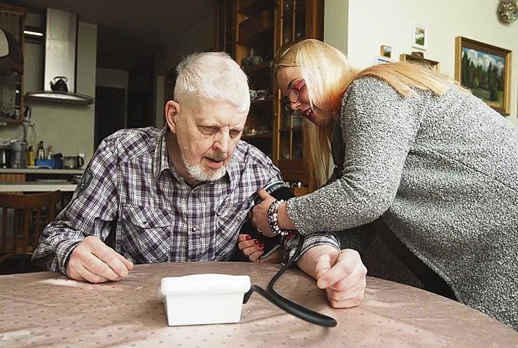 Loodav eakate maja pakub hoolitsust ja omaette kodu