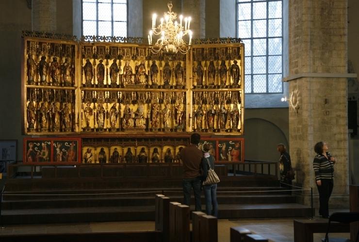 Niguliste kiriku altari uurimisprojekt võitis Euroopa muinsuskaitseauhinna