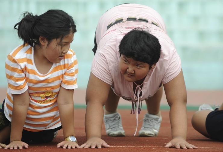 Uuring: laste rasvumine on suurenenud 40 aastaga kümme korda