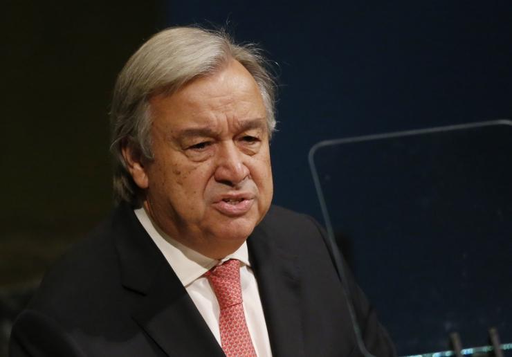 ÜRO peasekretär: surmanuhtlusele pole 21. sajandil kohta