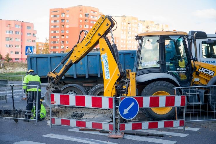 Tallinna Vesi hoiatab veeavarii eest Põhja puiesteel