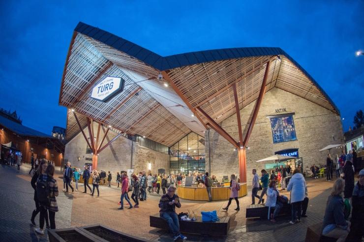 Eesti Arhitektide Liidu aastapreemiale kandideerib teiste seas ka Balti jaama turg