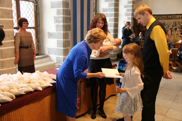 Täna anti Tallinna raekojas üle nimetunnistused