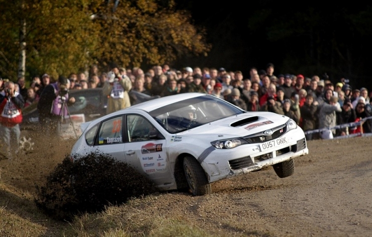 Saaremaa rallil osalev 12 riigi sõitjad