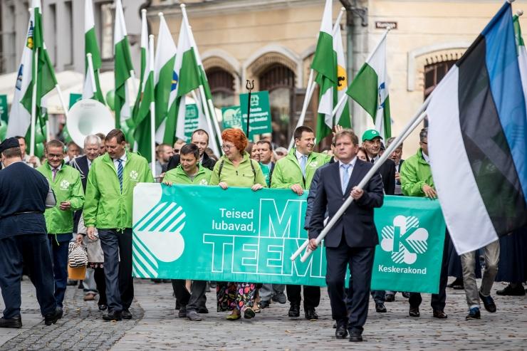 Veel üks uuring: Keskerakonna populaarsus kasvab nii riigis kui ka Tallinnas