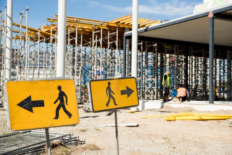 Ehitusvaldkonna sünge olevik: varimajanduse osakaal on 76%