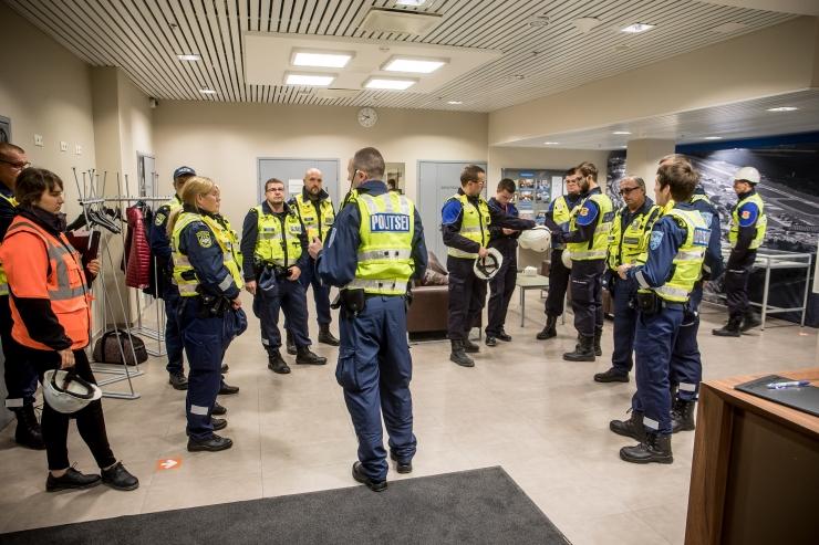 Politsei on valimispäeval väljas täiendavate jõududega