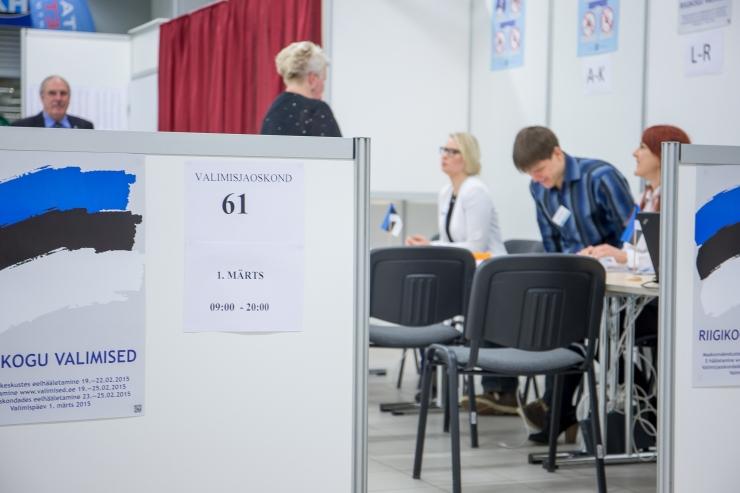Valimistel osales 53,2 protsenti valijatest